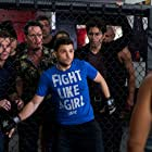 Kevin Dillon, Adrian Grenier, Kevin Connolly, Jerry Ferrara, and Ronda Rousey in Entourage (2015)