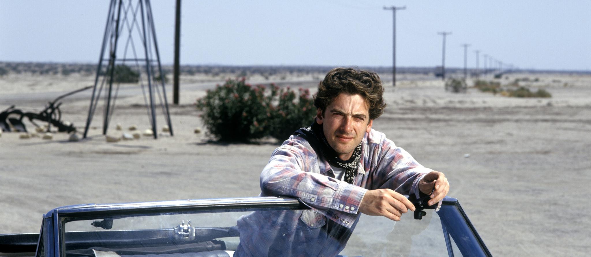 Peter Capaldi in Runway One (1995)