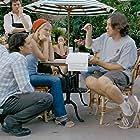Kirsten Dunst, Cameron Crowe, and Orlando Bloom in Elizabethtown (2005)