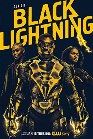 Black Lightning TV Poster