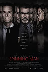 Pierce Brosnan, Minnie Driver, and Guy Pearce in Spinning Man (2018)