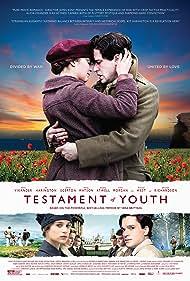 Alicia Vikander and Kit Harington in Testament of Youth (2014)
