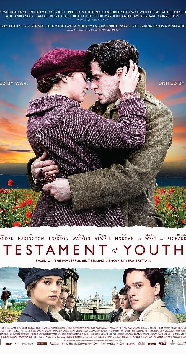 JAUNYSTĖS PAŽADAS (2014) / Testament of Youth