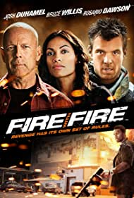 Bruce Willis, Rosario Dawson, Josh Duhamel, and 50 Cent in Fire with Fire (2012)