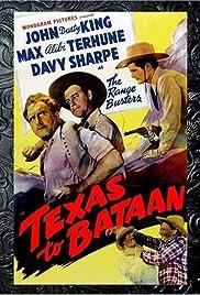 Texas to Bataan Poster