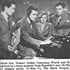 Rod Cameron, Roland Got, Tom Seidel, and Constance Worth in G-Men vs. The Black Dragon (1943)