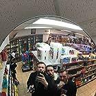 Chris Bain and Ryan James in Shooting Clerks (2019)
