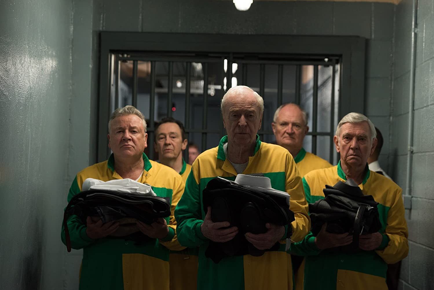 Michael Caine, Jim Broadbent, Tom Courtenay, Paul Whitehouse, and Ray Winstone
