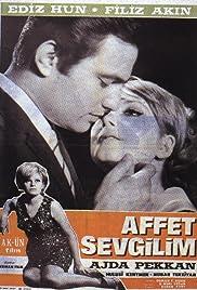 Affet sevgilim Poster