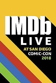 IMDb LIVE at San Diego Comic-Con 2018 Poster