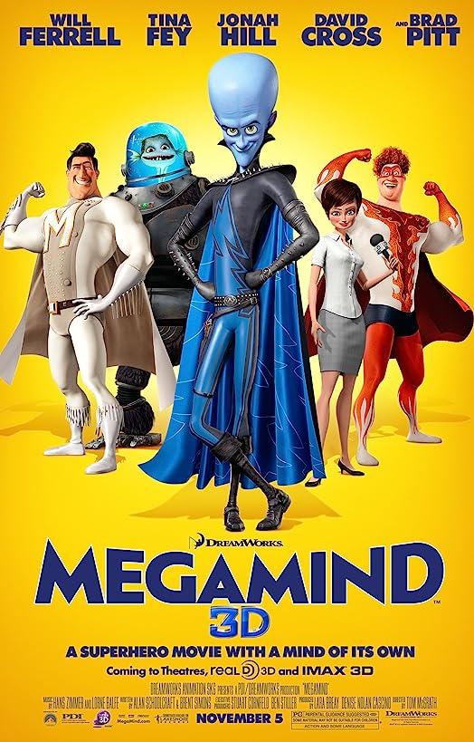 Megamind (2010) Hindi Dubbed
