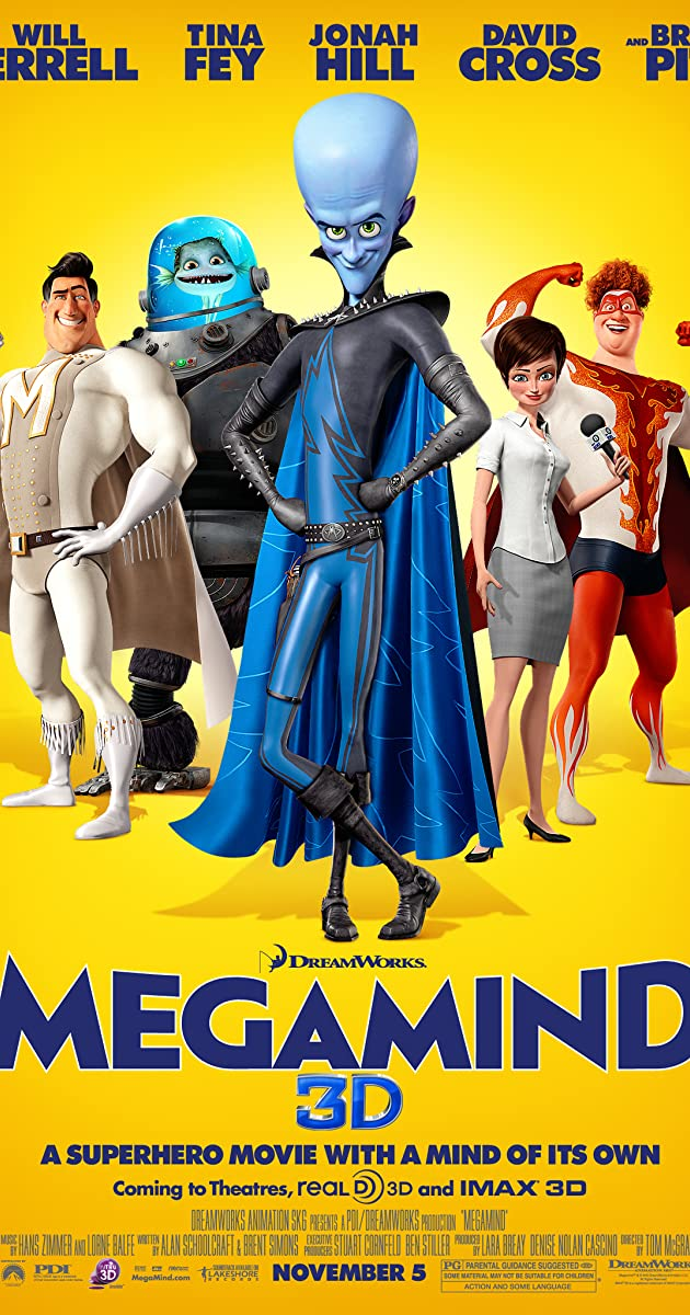 KẺ XẤU ĐẸP TRAI - Megamind (2010)