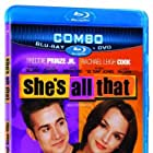 Rachael Leigh Cook and Freddie Prinze Jr. in She's All That (1999)
