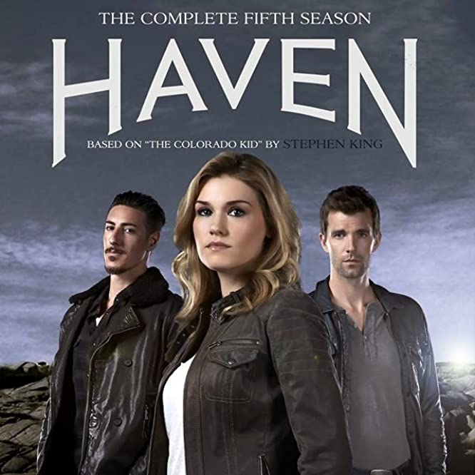 Eric Balfour, Lucas Bryant, and Emily Rose in Haven (2010)
