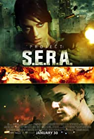 Benjamin Howdeshell, Julia Voth, and Derek Theler in Project: SERA (2013)