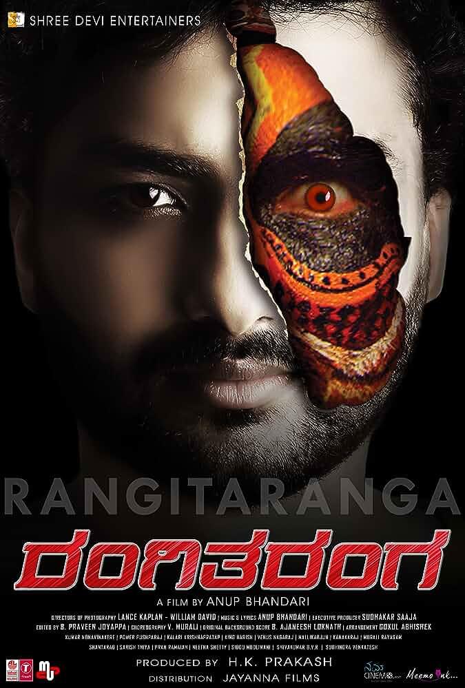 Rangi Taranga (2019) 720p Hindi Dubbed WEB-HD 450MB – 8.5 Rating