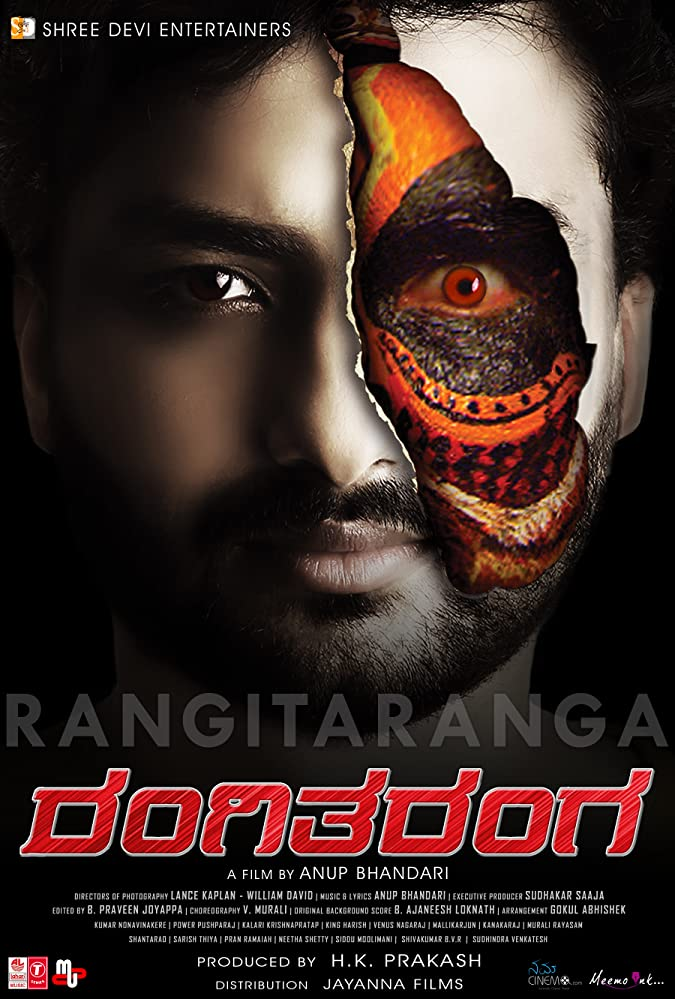 RangiTaranga (2018) Hindi Dubbed 450MB HDTVRip 480p x264