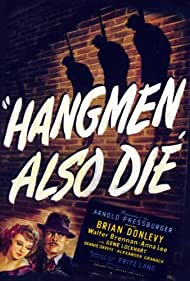 Brian Donlevy and Anna Lee in Hangmen Also Die! (1943)