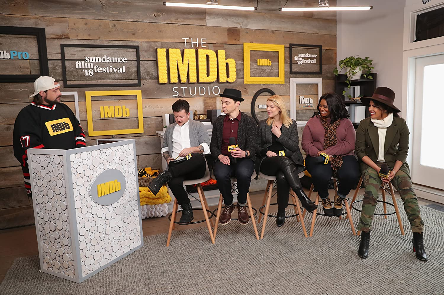 Claire Danes, Kevin Smith, Octavia Spencer, Silas Howard, Priyanka Chopra, and Jim Parsons