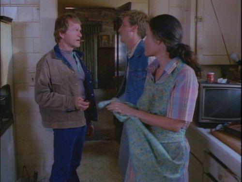 Beth Grant, Bill McKinney, and Ramsay Midwood in Hunter (1984)