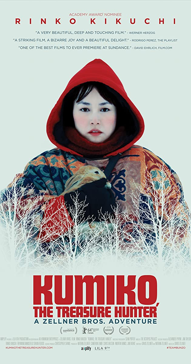 Subtitle of Kumiko, the Treasure Hunter