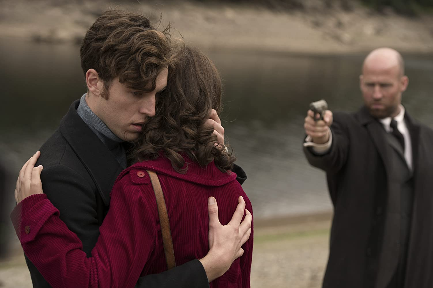 Zana Marjanovic and Tom Hughes in The Game (2014)
