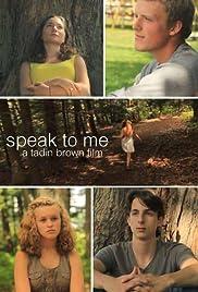 Speak to Me Poster