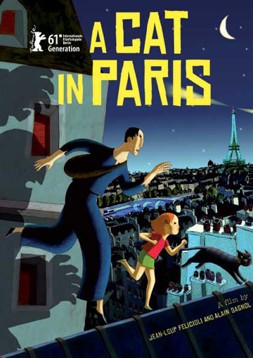 A Cat in Paris (2010) BluRay 480p, 720p & 1080p