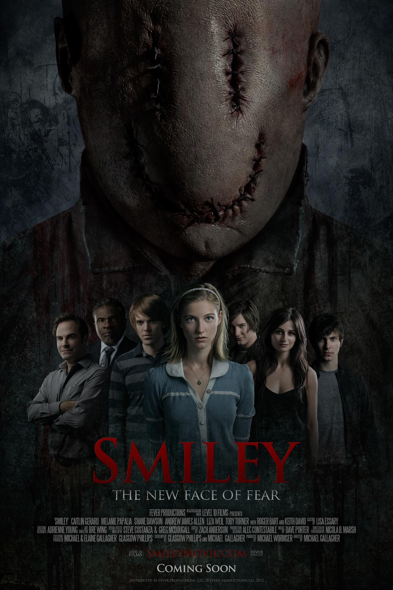 Smiley Horror Mask