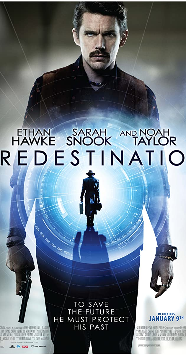 Predestination (2014) Dual Audio Hindi 300MB BluRay 480p ESubs