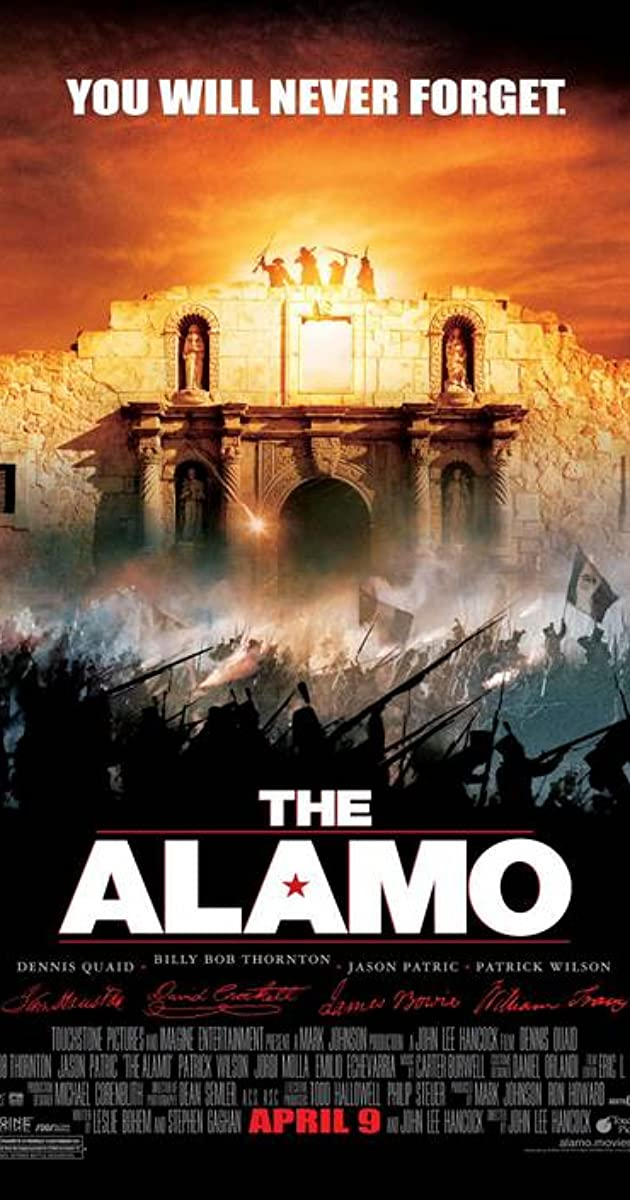 Subtitle of The Alamo
