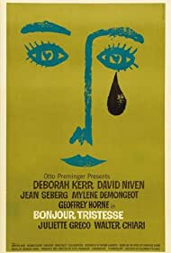"""""""Bonjour tristesse"""" (Saul Bass Poster) 1958 Columbia Pictures"""