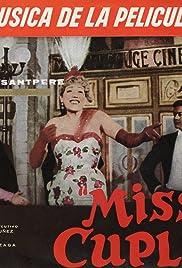 Miss Cuplé Poster