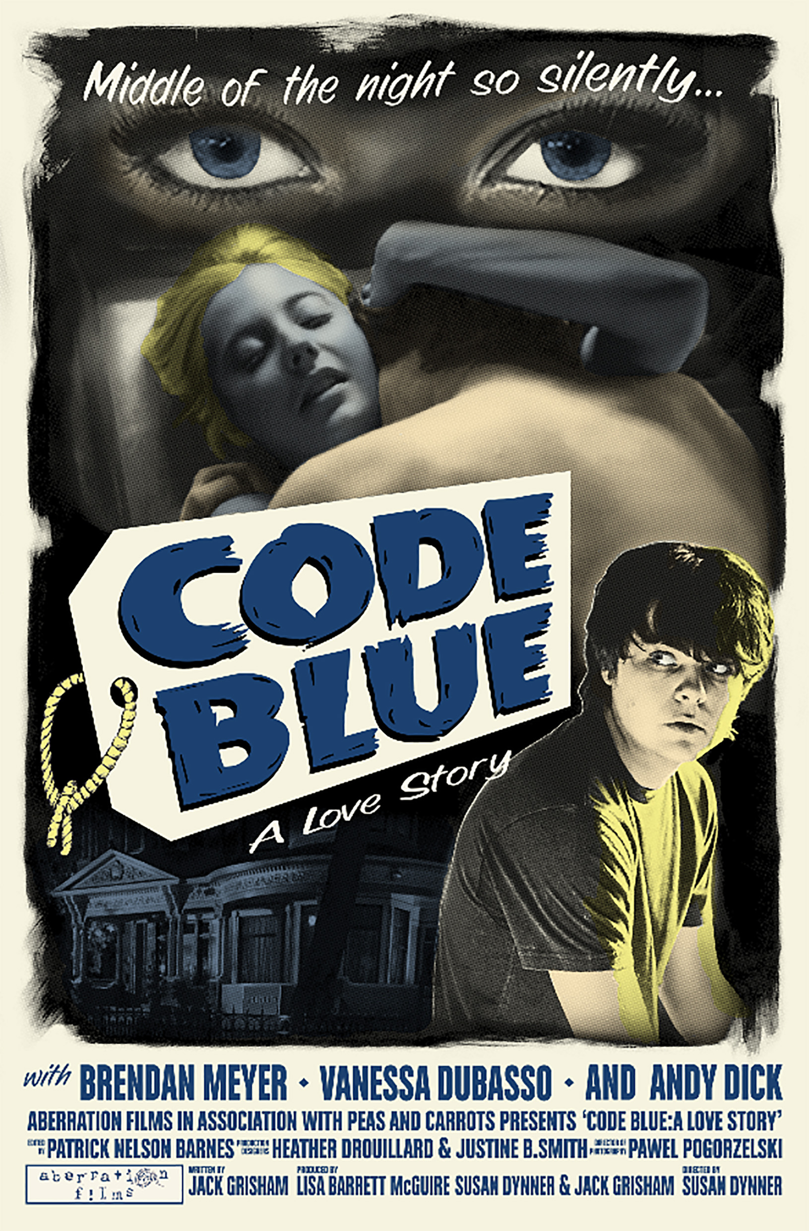 Brendan Meyer and Vanessa Dubasso in Code Blue: A Love Story (2016)
