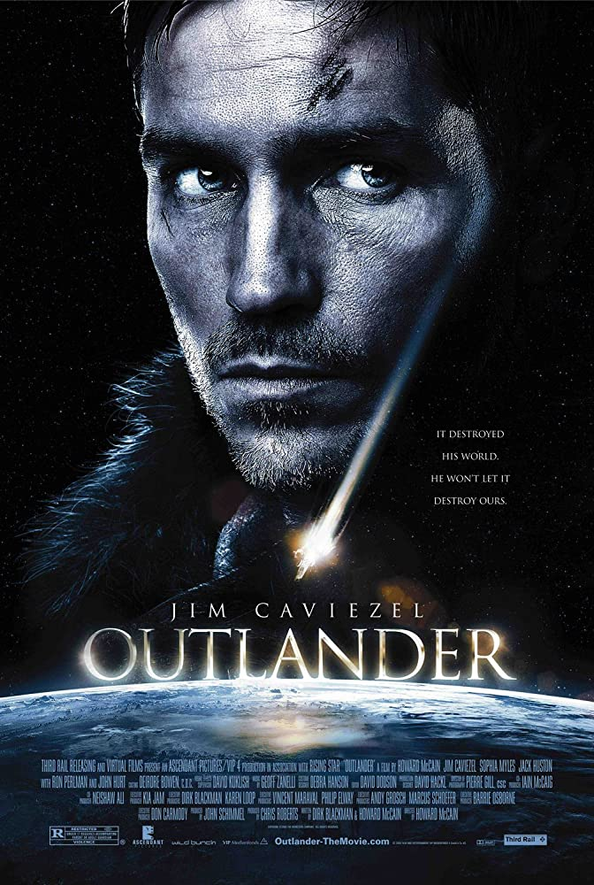 Outlander 2008 Dual Audio Hindi 500MB BluRay ESubs Download