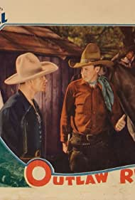 Dick Botiller, Bartlett A. Carre, Bud Pope, Reb Russell, and Rebel in Outlaw Rule (1935)