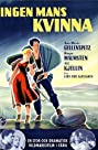 Ingen mans kvinna (1953) Poster