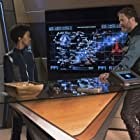 Rainn Wilson and Sonequa Martin-Green in Star Trek: Discovery (2017)