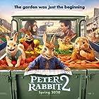 James Corden, Margot Robbie, and Elizabeth Debicki in Peter Rabbit 2: The Runaway (2021)