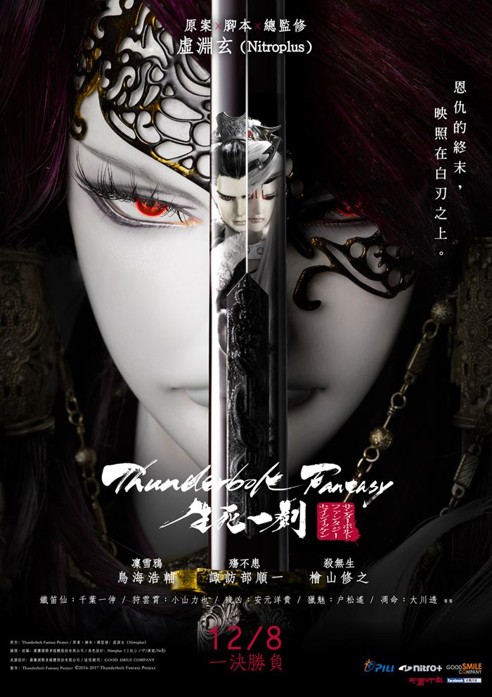 Thunderbolt Fantasy The Sword of Life and Death 2017 Japanese 250MB HDRip Esubs Download