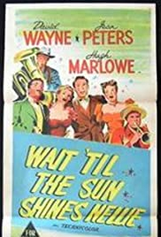 Wait Till the Sun Shines, Nellie (1952) Poster - Movie Forum, Cast, Reviews