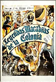 Macabre Legends of the Colony Poster