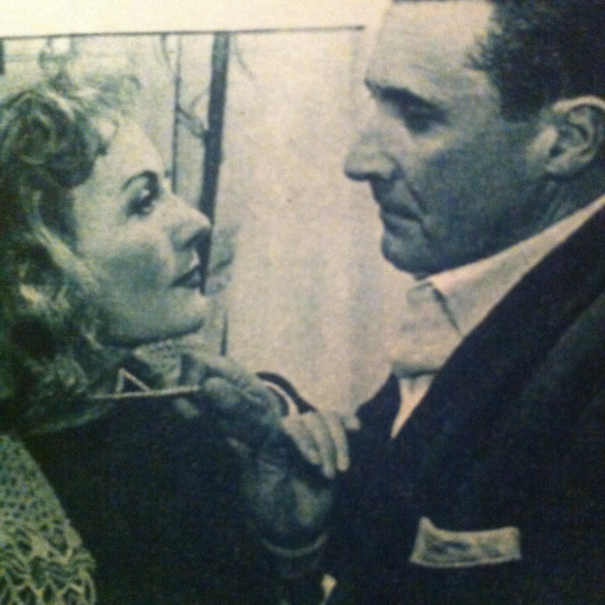 Isa Miranda and Paolo Stoppa in Les sept péchés capitaux (1952)