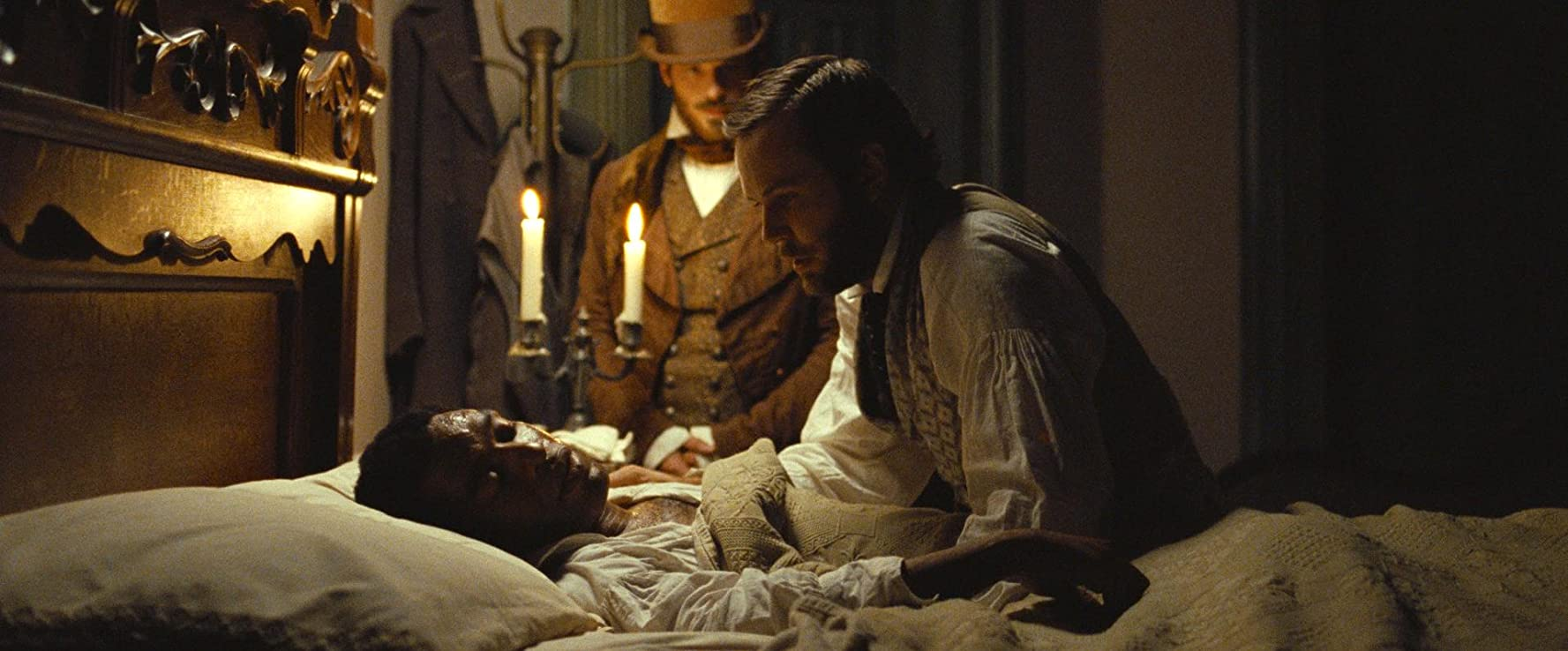 Chiwetel Ejiofor, Taran Killam, and Scoot McNairy in 12 Years a Slave (2013)