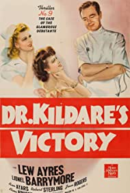 Lew Ayres, Ann Ayars, and Jean Rogers in Dr. Kildare's Victory (1942)