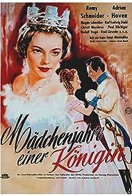 Romy Schneider and Adrian Hoven in Mädchenjahre einer Königin (1954)
