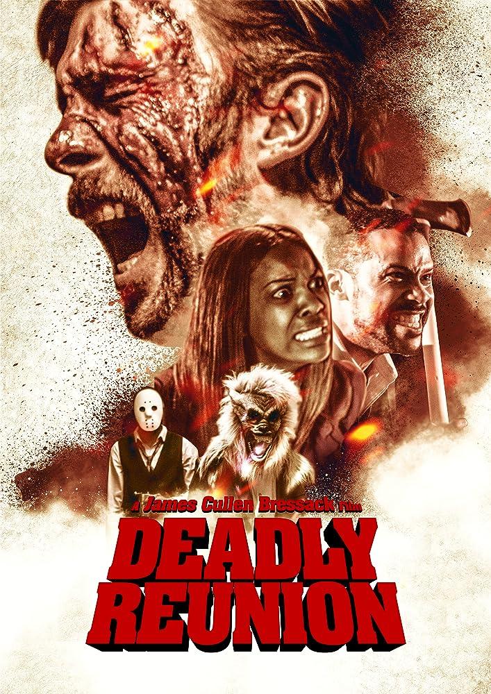 Trae Ireland, Baron Jay, Chris Sapone, James Cullen Bressack, and Monica Davis in Deadly Reunion (2019)