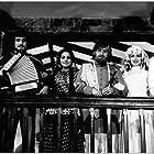 Shabana Azmi, Amitabh Bachchan, Parveen Babi, Rishi Kapoor, Vinod Khanna, and Neetu Singh in Amar Akbar Anthony (1977)