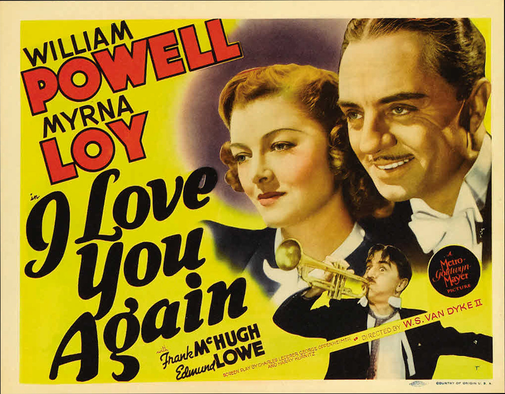 Image result for i love you again 1940