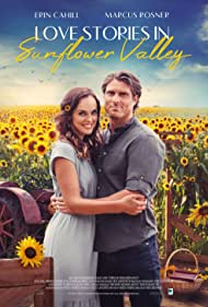 Erin Cahill and Marcus Rosner in Love Stories in Sunflower Valley (2021)